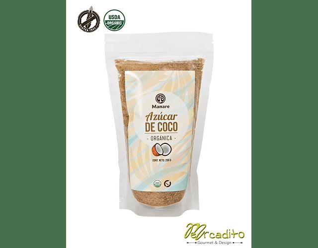 Azúcar de coco orgánica 250 grs - Manare