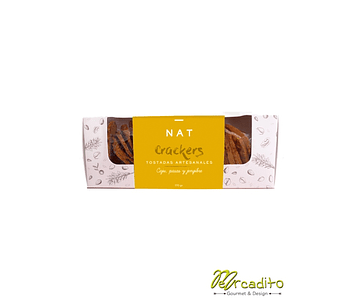 Nat Crackers - Caju, Pasas y Jengibre