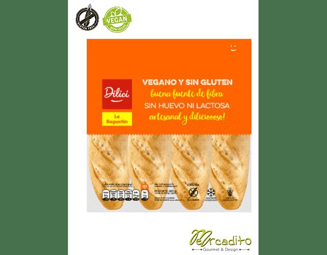 Le Baguetin - Vegano, Sin Gluten, Sin Lactosa