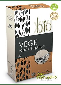Sopa de Quinoa - Vegetales