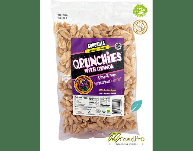 Qrunchies Canela - Cereal Sin Gluten, Sin Azúcar