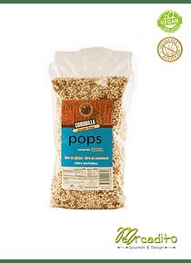 Pops de Quinoa (quinoa, azúcar y cacao) - Orgánico, Sin Gluten, Vegano