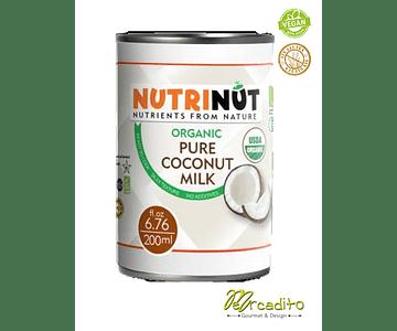 Organic coconut milk - 400 ml