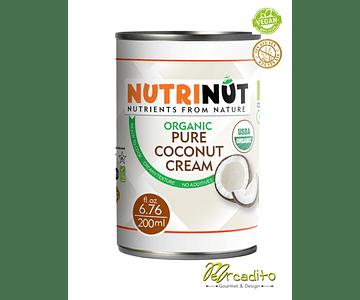 Organic coconut cream - 400 ml