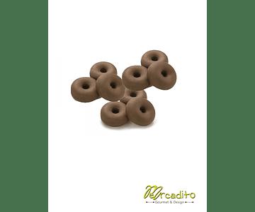 Mini Donuts de Chocolate x 15 unidades