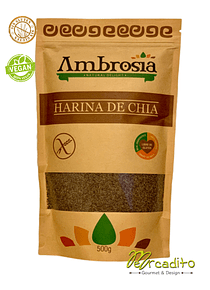 Harina de Chia - Sin Gluten (Certificada)