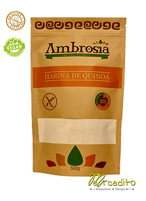Harina de Quinoa - Sin Gluten (Certificada)