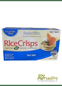 Galletas RiceCrips Sal de Mar