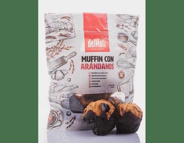 Muffins de Arándanos - Sin Gluten