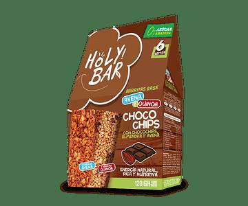 Barra de Cereales Choco Chip - 100% Natural, 0% Azúcar añadida