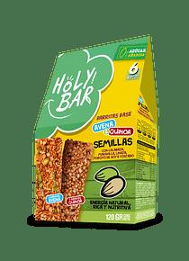 Barra de Cereales Semillas - 0% Azúcar añadida