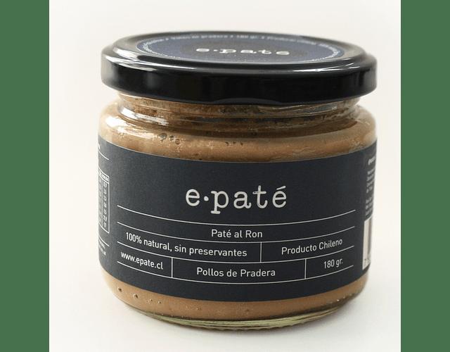 Paté al Ron - 100% Natural