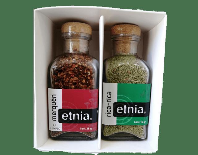 Minipack Etnia Rica Rica y Merquén