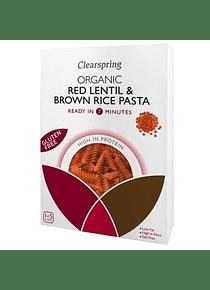 Pasta de lenteja roja & arroz integral - sin gluten, vegano y sin lactosa