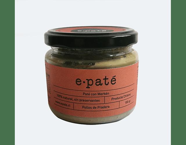 Paté al Merken - 100% Natural