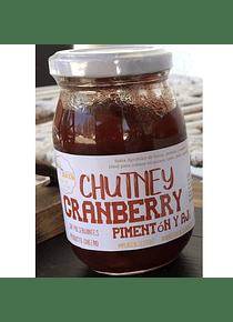 Chutney Cranberry, Pimentón y Ají - 100% natural