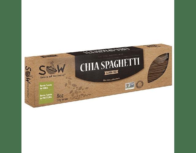 Spaguetti Chía, Vegano y Sin Gluten
