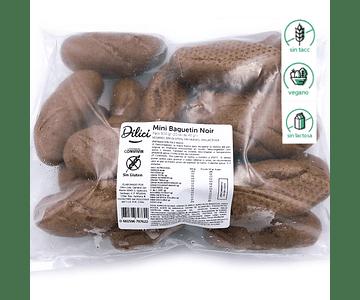 Mini Le Baguetin Noir (20 unidades) - Sin gluten, Vegano