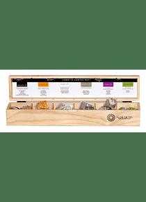Caja con 6 variedades de te infusión (36 bolsitas)
