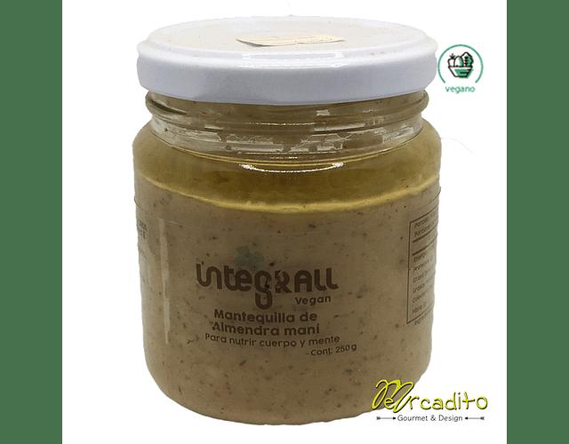 Mantequilla de Almendra Maní - Vegana