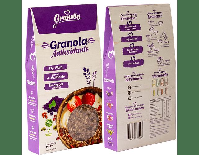 Granola Antioxidante - Granolin