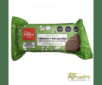 Queque de Chocolate - Sin Gluten, Vegano, Sin Lactosa