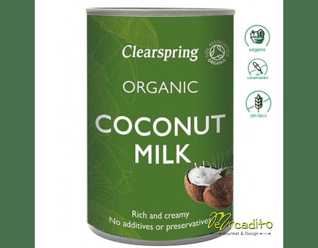 Leche de Coco Orgánica - Vegana, Sin Gluten