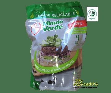 Hamburguesa de Porotos Negros - Vegana