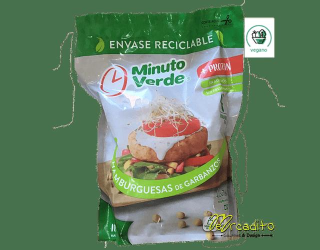 Hamburguesa de Garbanzos - Vegana