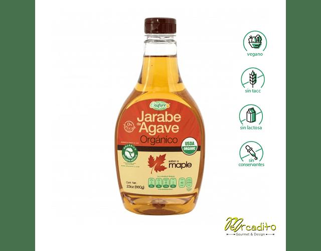 Jarabe de Agave con Maple - Sin Gluten, Vegano
