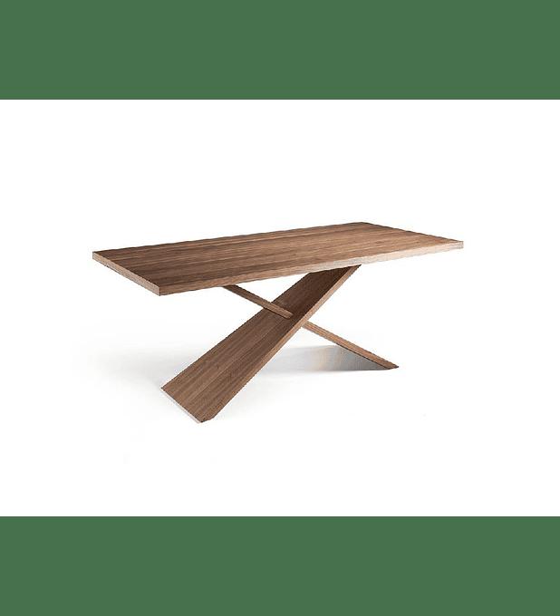 Mesa de comedor de madera maciza N5452
