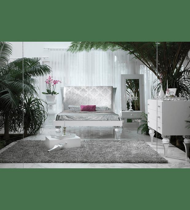 Habitación blanca / plateada M148