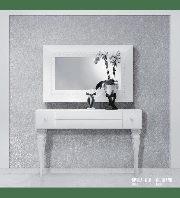 Consola Branco/Prata M160