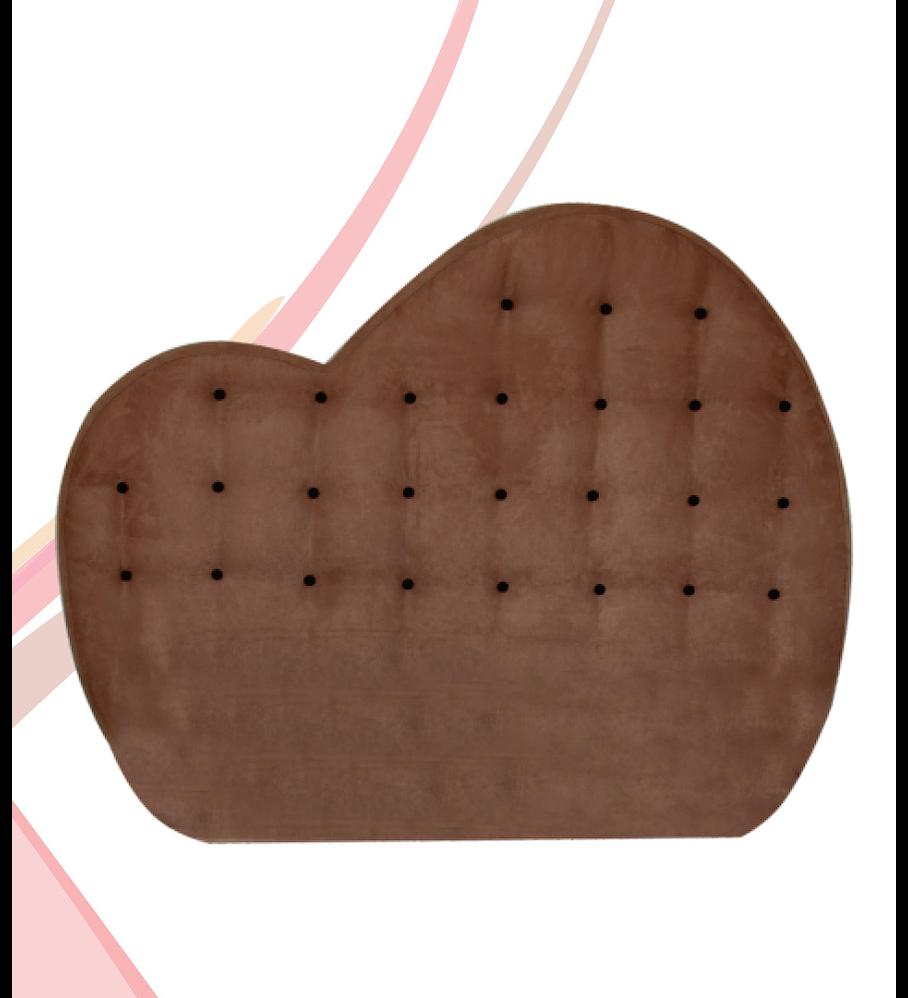 Cabeceira Estofada Ergoflex Coração