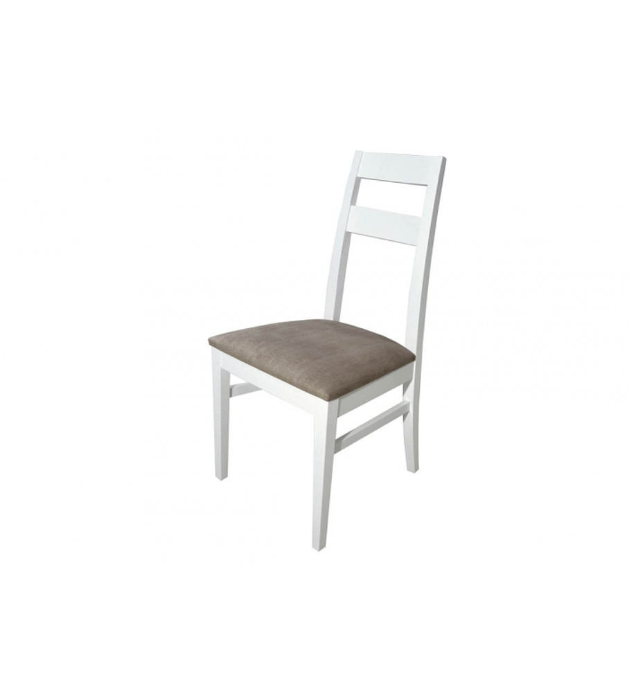 Sala de Jantar Chiado Branco / Carvalho