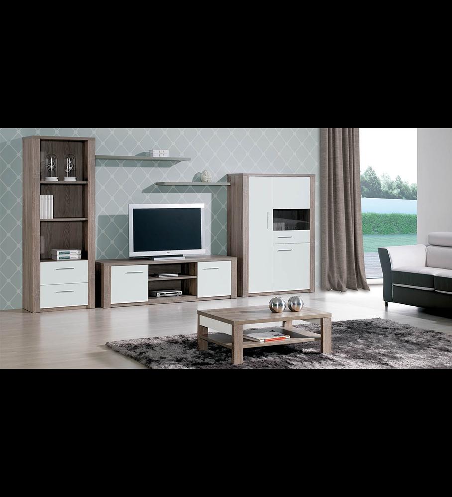Salón Paris Carvalho gris / blanco