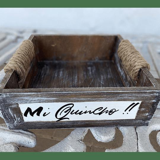 Caja de Madera Vintage de 20x20