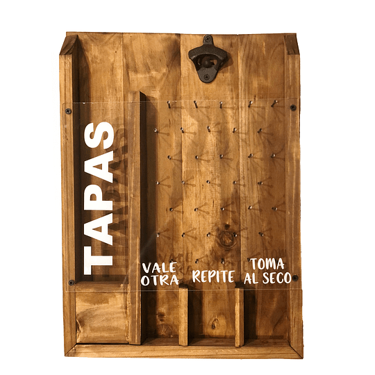 Caja destapado Juego Cerveza - Guardar Tapas