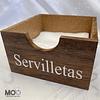 Servilletero Chico - Servilleta Pequeña