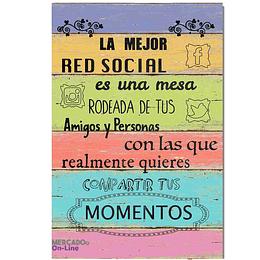 """CUADRO """"LA MEJOR RED SOCIAL"""""""