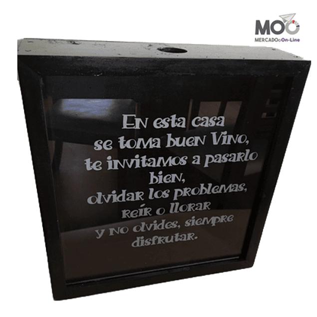 Caja de Corchos 34x33 cm
