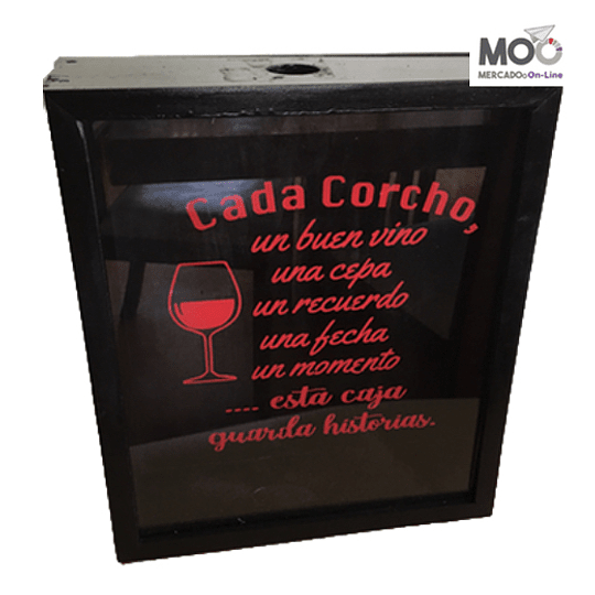 Caja de Corcho 30x35
