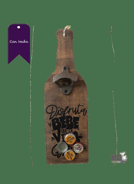 Destapador de Botellas Con Imán