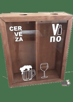 Caja Doble Cerveza y Vino