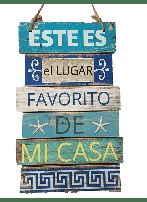"""Letrero """"Mi lugar Favorito"""""""