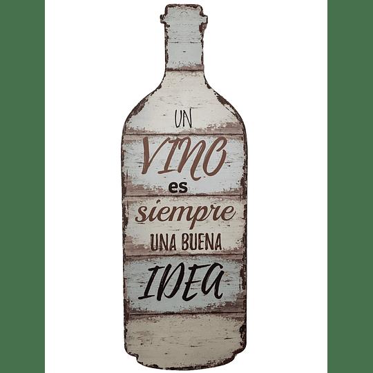 Botella Deco
