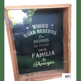 """Caja para Corchos """"Vinos Gran Reserva"""""""