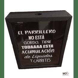"""Caja para Corchos """"El Parrillero"""""""