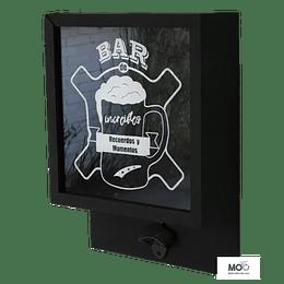 Caja Cervezas con Destapador - Negra