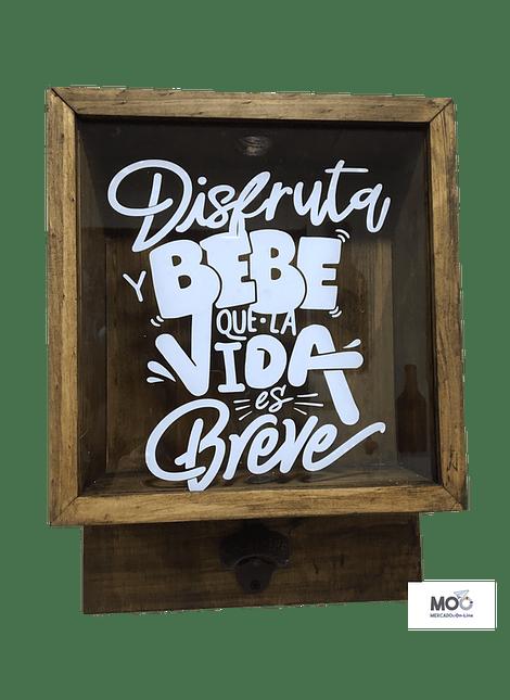 Caja Cervezas con Destapador - Café